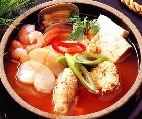 Al Chigae - Fish Egg Stew w/ Vegetables - 알찌개