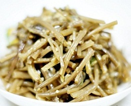 Gogumasunun Namul - Seasoned Bellflower Roots - 도라지나물