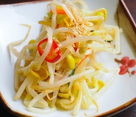 Kong Namul - Seasoned Bean Sprouts - 콩나물무침