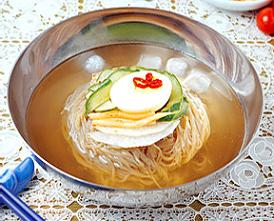 Naengmyun - Buckwheat Noodles - 냉면