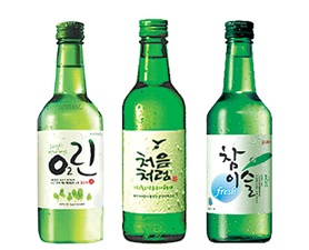 Soju - Korean Rice Liquor - 소주