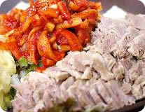 Steamed Pork w/ Vegetables