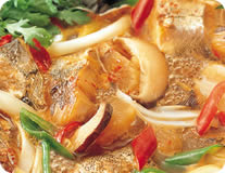 Hot Spicy Fish Stew