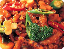 Spicy Octopus Stir-Fry