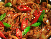Spicy Squid Stir-Fry