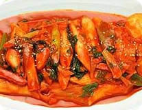 Spicy Rice Cake w/ Vegetables